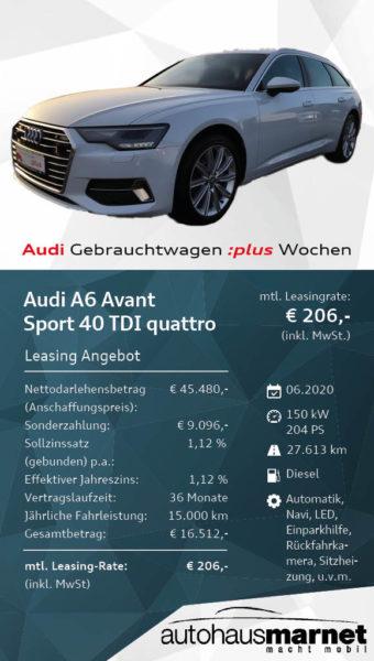 Angebot 10 A6 Avant WDW336282_web