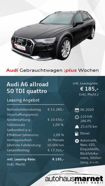 Angebot 1 Audi Gebrauchtwagen :plus Wochen - A6 allroad2