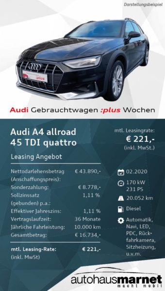 Angebot 2 - Audi Gebrauchtwagen :plus Wochen A4 allroad